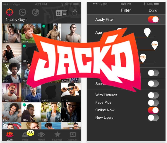 Quien no ha tenido un mal encuentro con la app Jack'd